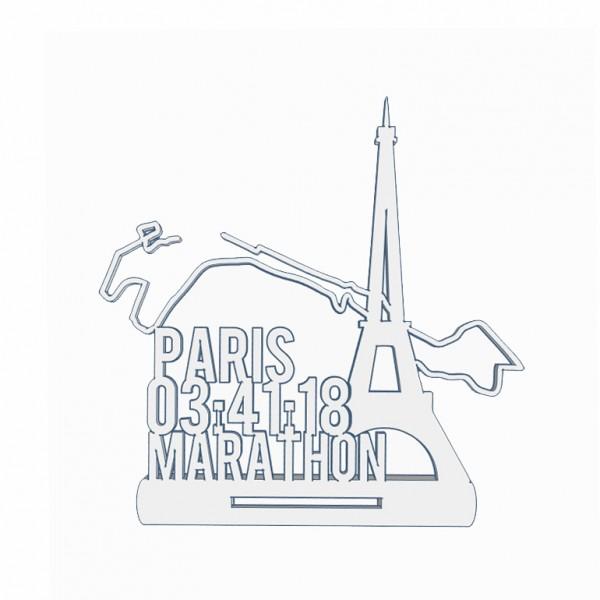 Paris Marathon Medaillenhalter