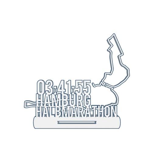 Hamburg Halbmarathon Medaillenhalter