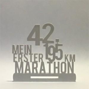 Mein erster Marathon Medaillenhalter snapytrack